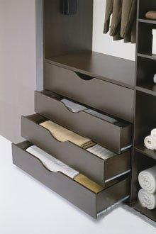 Аксессуары для шкафа купе: Ящики, корзины и полки.